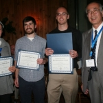 (L-R) Shirin Jamali, Thomas Edwards, Timothy Keller, Hitoshi Ohta